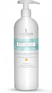 Afrodita CLEAN UP - TONIK REGENERUJĄCY WITAMINA A 500 ml