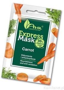 Express Mask Carrot   7ml  AVA Laboratorium
