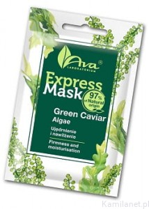 Express Mask Green Caviar Algae  7ml  AVA Laboratorium