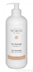 NOREL  Top Massage olejek do masażu 500 ml pb 188